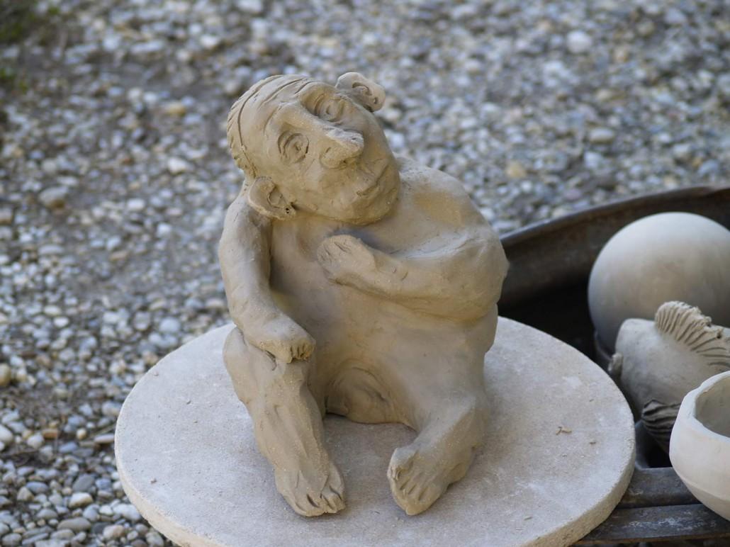Keramikskulptur